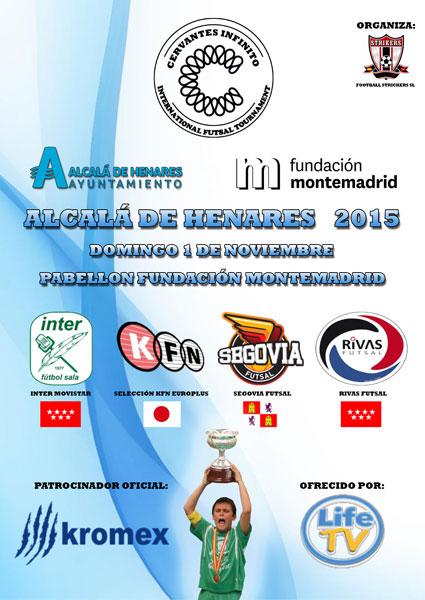 Torneo Internacional de Futbol Sala, Cervantes Infinito 2015