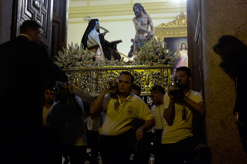 Procesión Extraordinaria de Santa Teresa de Jesús en Alcalá para conmemorar el V Centenario del nacimiento de Santa Teresa
