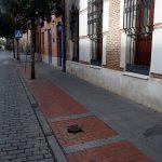 Tala de dos árboles en la calle Santiago