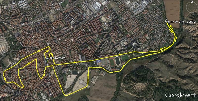 Recorrido en Alcalá de Henares MsMxM