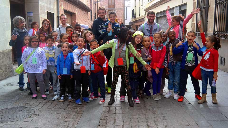 Fiesta de la caricatura en la Calle Mayor