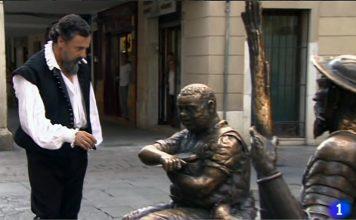 Cervantes en el Ministerio del Tiempo