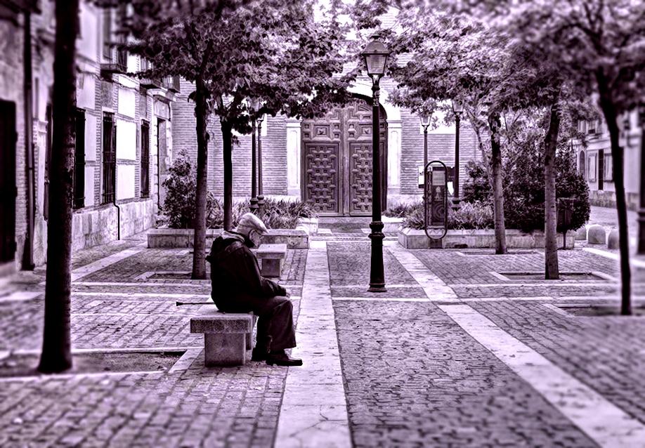Otoño en la Plaza Padre Lecanda