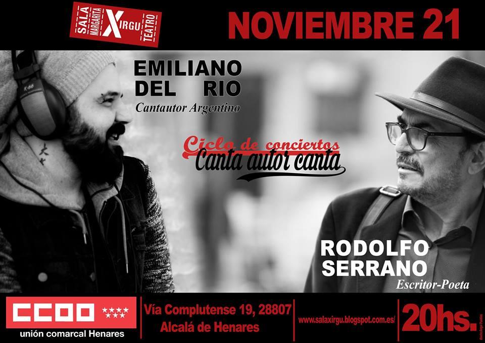 Emiliano del Río y Rodolfo Serrano