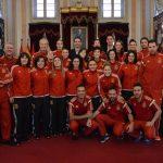 La Selección Nacional de Fútbol Sala Femenino en el Ayuntamiento