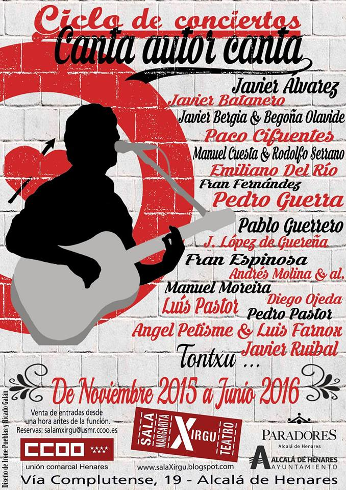 Canta autor Canta en la Sala Margarita Xirgú