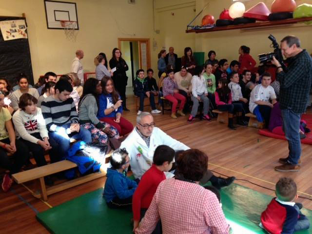 Amazon Spain visita el Colegio Público de Educación Especial Pablo Picasso