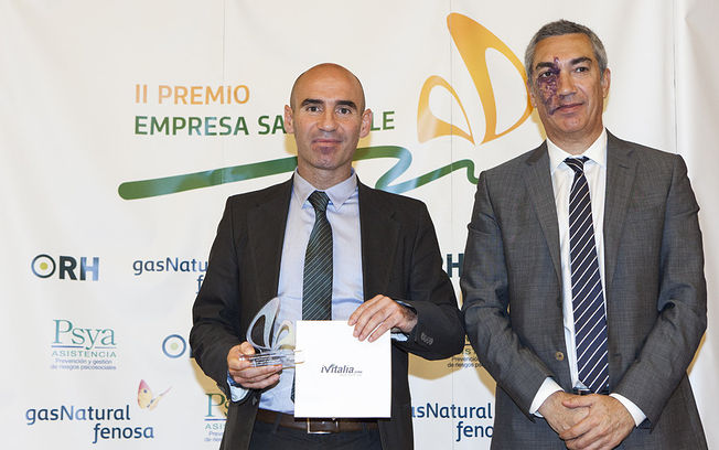 José Luis Martínez Jiménez, II Premio Nacional de Empresa Saludable