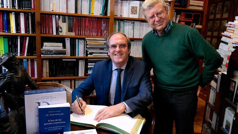 Ángel Gabilondo conmemora en Alcalá el Día de las Librerias