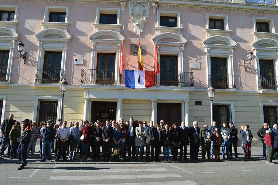 Alcalá de Henares, con el pueblo francés