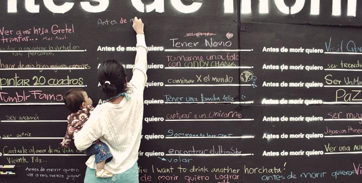 "Before I Die"" (Antes de morir)"