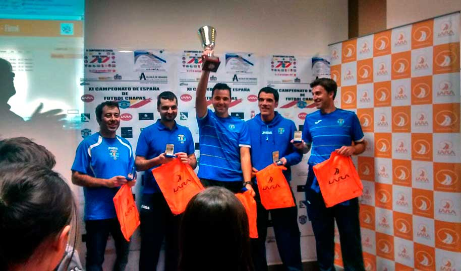 XI Campeonato de España de Fútbol-Chapas