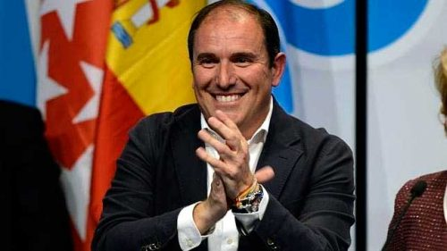 Javier Bello. ex-alcalde de Alcalá