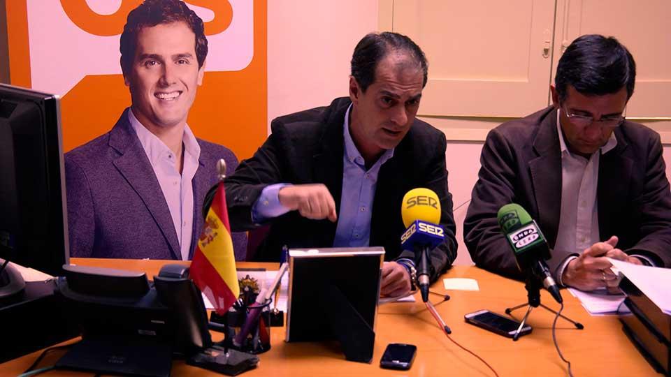 Miguel Ángel Lezcano, portavoz de C' s