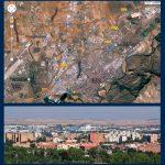 Plano y vistas de Alcalá