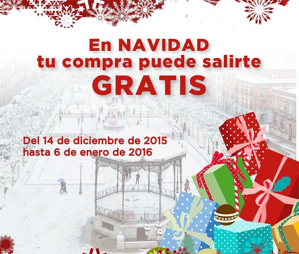 """En marcha la campaña """"En Navidad, tu compra puede salirte gratis"""" en Alcalá de Henares"""