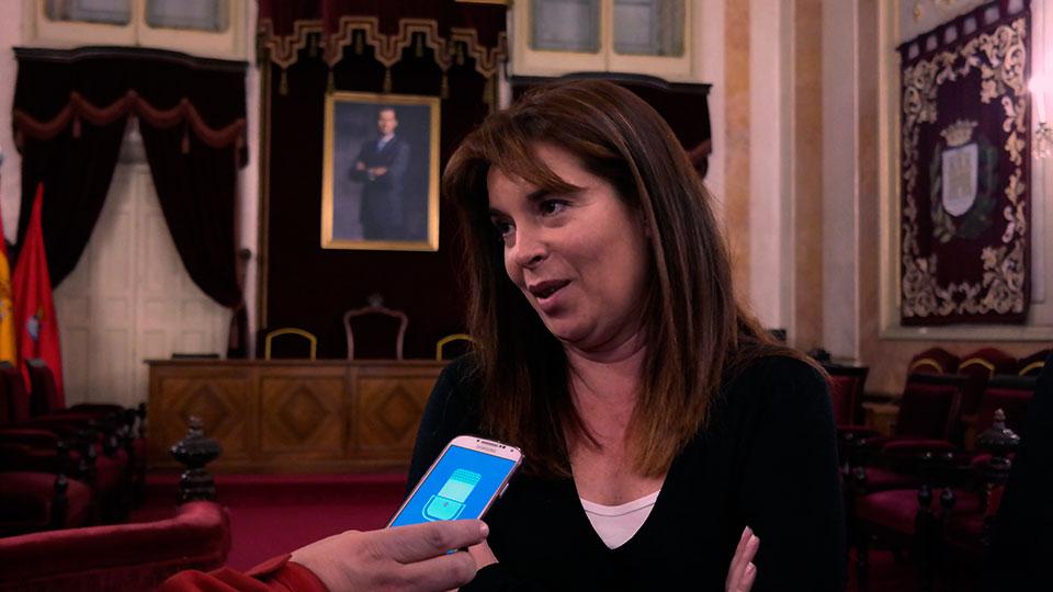 Yolanda Materranz en el ayuntamiento