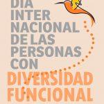 Cartel del Dia Internacional de las personas con diversidad funcional