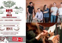 "BOYS OF THE HILLS Opus 3""Celtic Christmas Concert"""