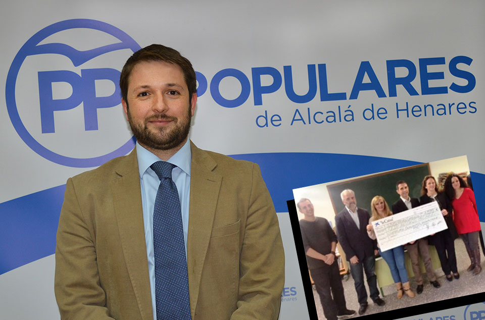 Victor Chacón, portavoz del PP en Alcalá de Henares