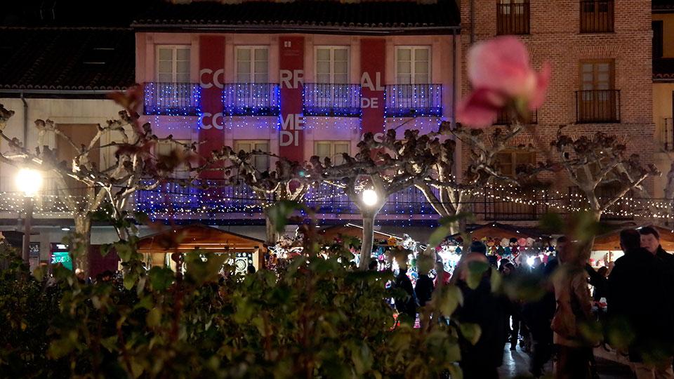Brillos de Navidad en Alcalá de Henares