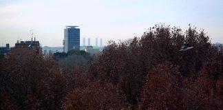 Vista de Torre Garena un atardecer de diciembre