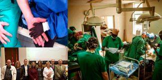 Solidaridad desde el Hospital Príncipe de Asturias