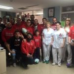 Rugby Alcalá en el Hospital Príncipe de Asturias