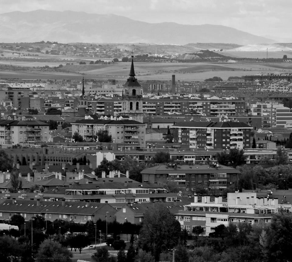 Vista de Alcalá y su Torre Magistra