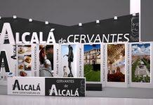Stand reutilizabre de Alcalá de Henares en Fitur 2016