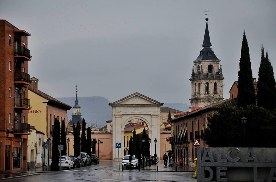 Lluvia en la Ciudad Patrimonio