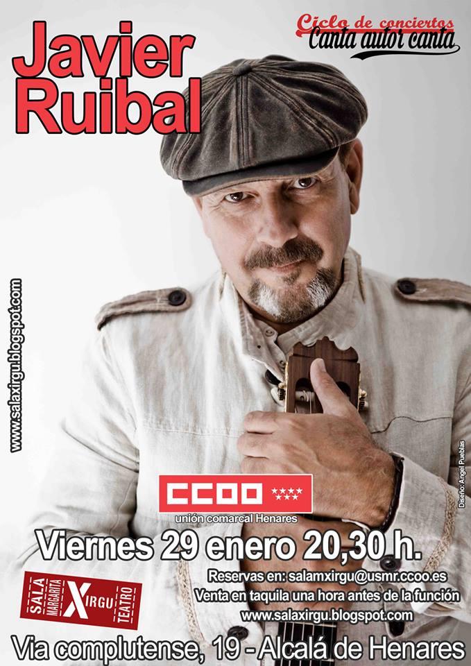 Javier Ruibal en Alcalá de Henares