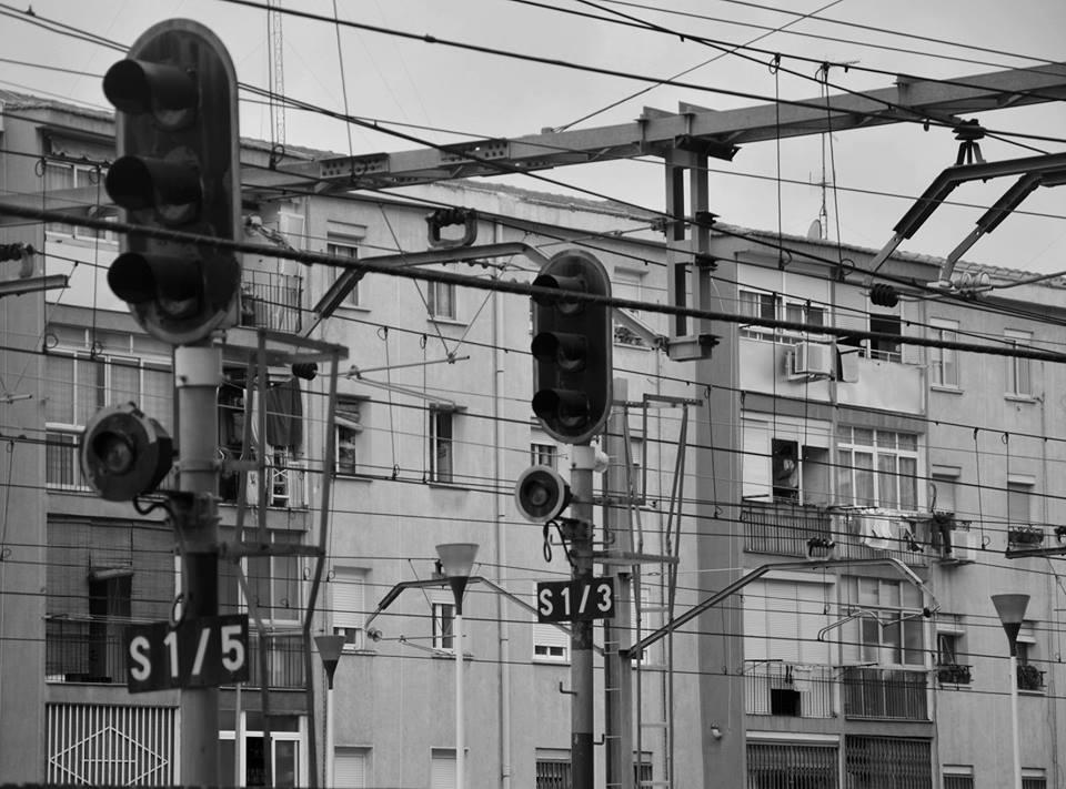 Tendidos elécticos en Renfe Alcalá