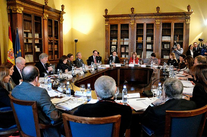 Pleno Comisión Nacional del IV Centenario de la muerte de Cervantes