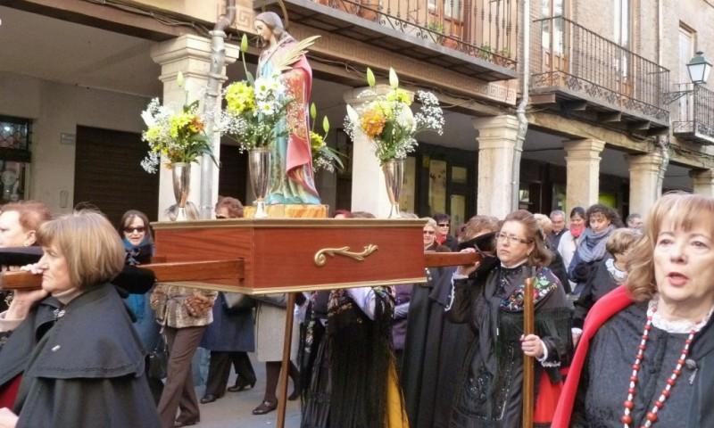 Procesión de Santa Águeda en Alcalá de Henares
