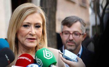 La presidenta de la Comunidad, Cristina Cifuentes, en una imagen de archivo.