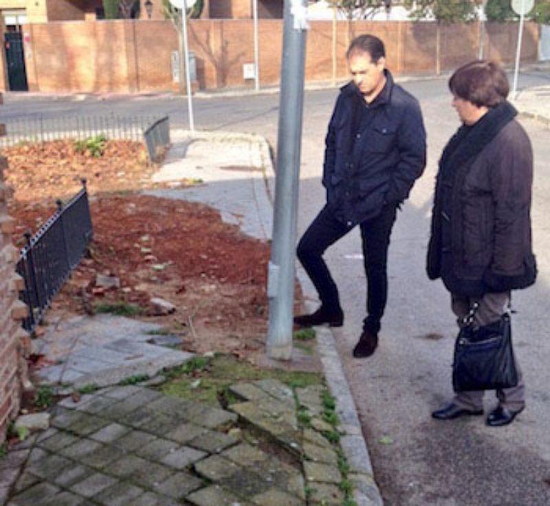 C´s reclama mejoras al Equipo de Gobierno en los barrios de la ciudad