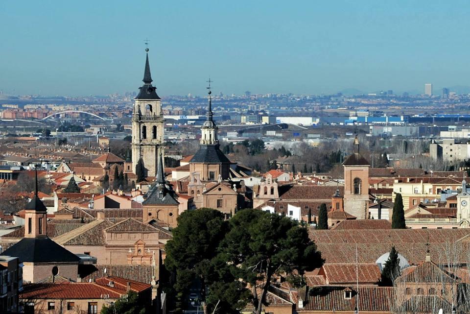 Panorámica de Alcalá y Madrid