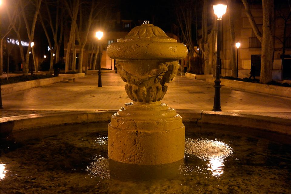 Fuente de la Plaza de Palacio
