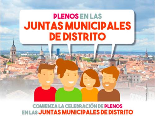 Ecos de los primeros 'Plenos de distrito' de la legislatura