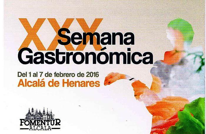 XXX Semana Gastronómica de Alcalá de Henares