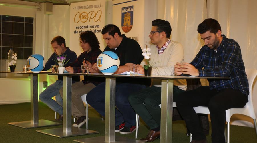 Baloncesto Alcalá presenta el VI Torneo Ciudad de Alcalá Copa Escandinavia