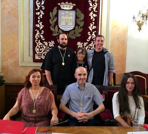 Grupo Municipal Somos Alcalá. Foto de Ricardo Espinosa Ibeas