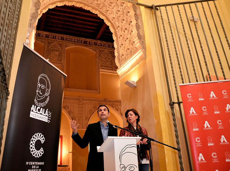 Presentación del IV Centenario de la Muerte de Cervantes en Alcalá de Henares