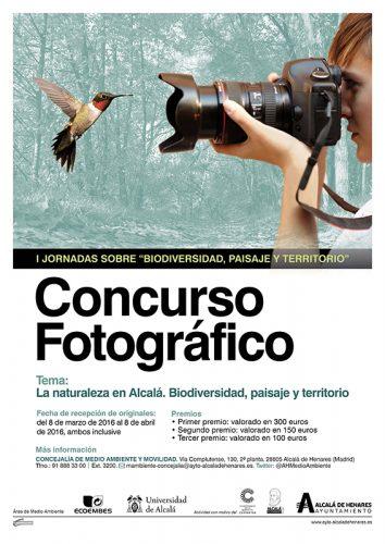 """concurso de fotografía """"La naturaleza en Alcalá: Biodiversidad, Paisaje y Territorio"""""""