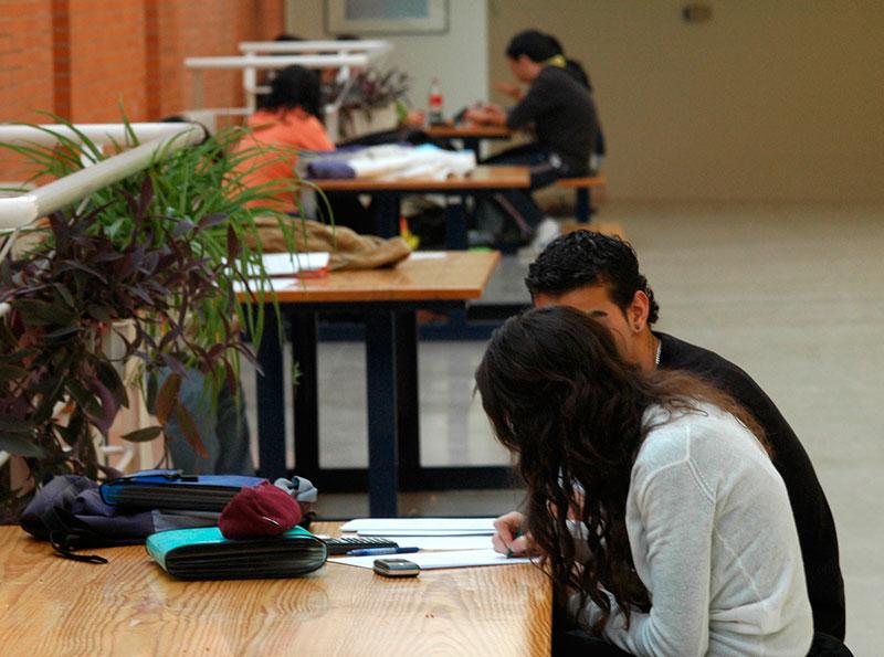 Estudiantes de la Universidad de Alcalá