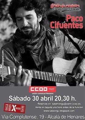 Paco Cifuentes en Alcalá