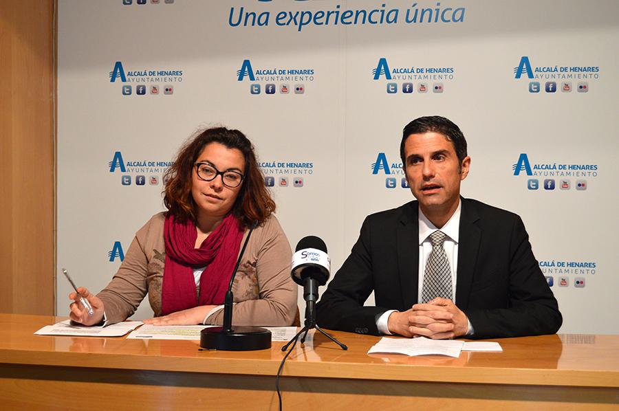 Javier Rodríguez Palacios y Laura Martín