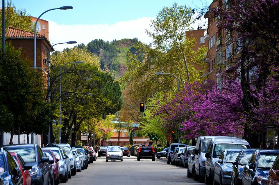 Por la calle Alameda