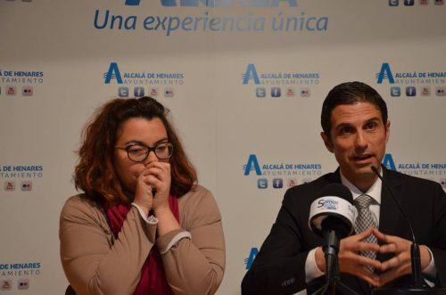 Javier Rodríguez Palacios y Laura Martin